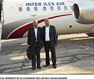 Comores : Un nouvel avion pour Inter Iles