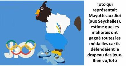 SEYCHELLES / BILAN DES JIOI 2011 : MAYOTTE BAT UN RECORD SANS LA MARSEILLAISE.