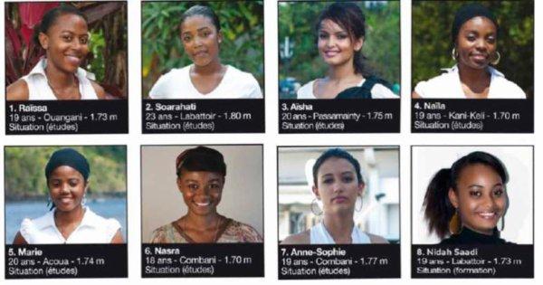Une huitième candidate à l'élection Miss Mayotte