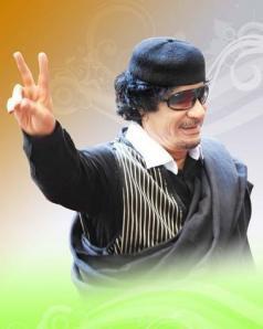 Libye – Gaddafi is die, Kadhafi est mort, القذافي يموت