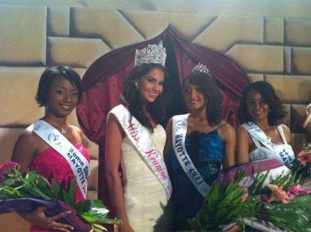 Aïsha Ahmed élue Miss Mayotte 2011