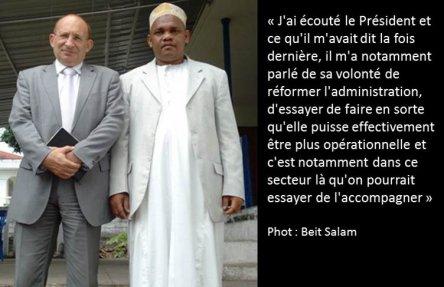 Comores : Différend franco-comorien. IKI a mordu à l'hameçon
