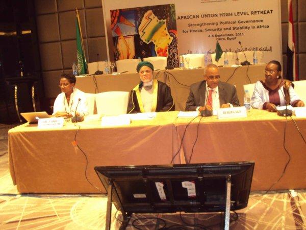 Union Africaine  / Discours de S.E.M Ahmed Abdallah Sambi au Caire