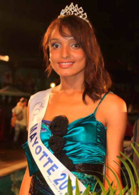 Aïsha élue Miss Mayotte 2011