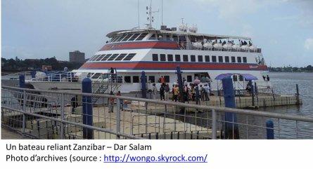 Zanzibar: un ferry fait naufrage avec 600 personnes à son bord