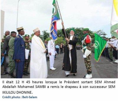 Comores : Le directeur de cabinet d'lkililou épingle Sambi