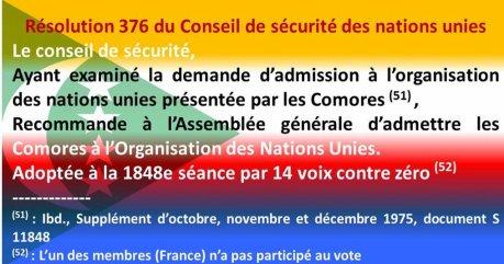 """COMORES : """"Mayotte est comorienne et le restera à jamais…"""""""