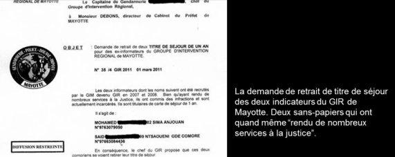 COMORES : A MAYOTTE, LES SERVICES DE C. GUEANT EMPLOIENT DES SANS-PAPIERS
