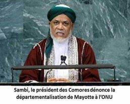 COMORES : 1ère AGNU d'IKILILOU. Ce qu'il ne dira pas
