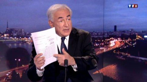 """MEA CULPA / DSK : """"Une faute morale dont je ne suis pas fier"""""""