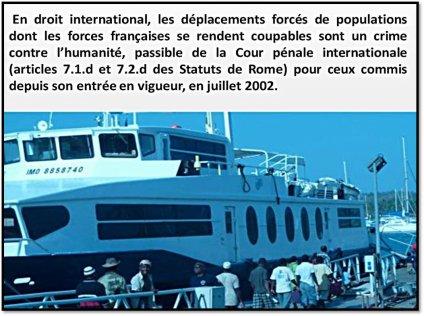 COMORES : La France devant la CPI pour ses crimes à Maoré