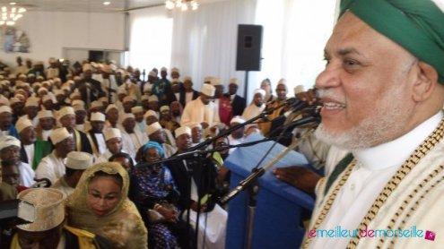 Sambi, invité d'honneur à l'investiture du mufti des Comoriens de France Ali M. Kassim