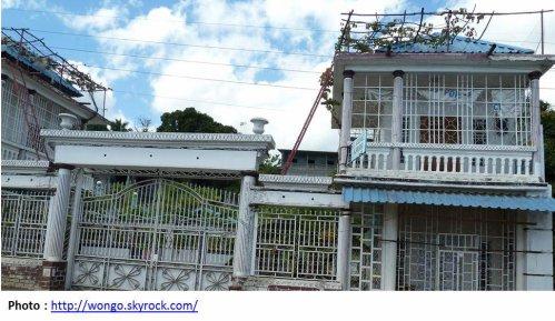 """COMORES / ANJOUAN : """"Johanna Livingston"""" : un hôtel tout en shiromani"""