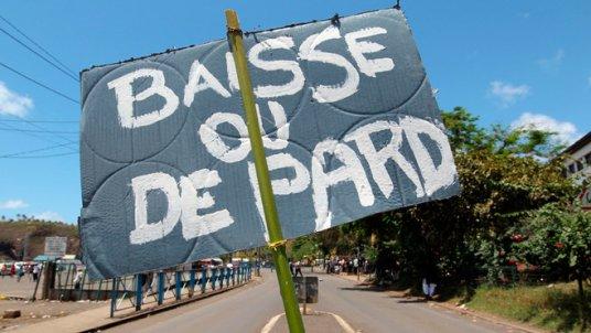 """Mayotte : """"Ça dérape, les gens ont faim"""""""