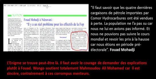 COMORES : Apportons notre soutien à Mahmoudou Ali Mohamed!