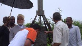 COMORES: SAMBI VISITE CERTAINS CHANTIERS DE LA GRANDE COMORE...