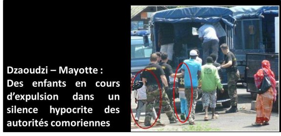 20 novembre : Les droits de l'enfant sont bafoués à Mayotte (Comores)