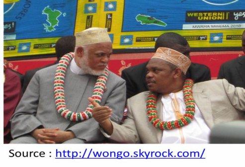 COMORES : IKILILOU INAUGURE LA ROUTE DE JIMLIME, SAMBI SON INVITE D'HONNEUR