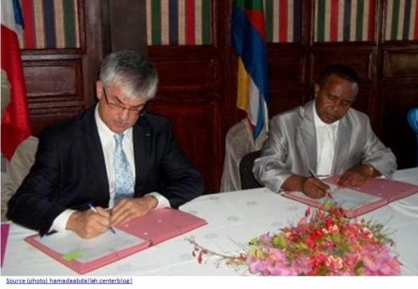 COMORES : Un accord bilatéral avec la France?