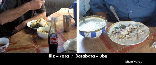 COMORES : Mayotte noirs et blancs et inversement