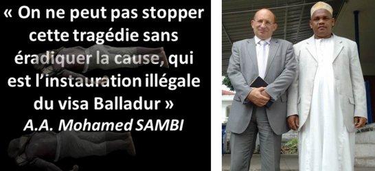 """COMORES : IKILILOU doit sortir de son """"silence scandaleux"""" sur MAYOTTE"""
