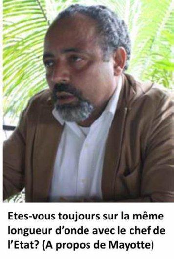COMORES :  Fahmi Saïd Ibrahim après le congrès du Pec