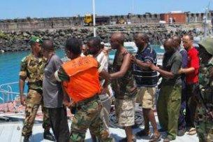 Comores: Dix pirates présumés arrêtés par les forces de sécurité