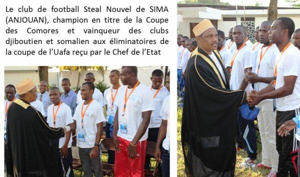 Football : Steel Nouvel d'Anjouan, ambassadeur des Comores