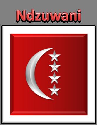 Nouveau drapeau pour L'État d'Anjouan (Comores)