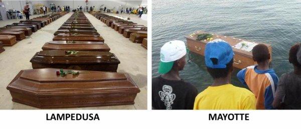 De Lampedusa à Mayotte : La honte