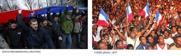 La Crimée est russe et Mayotte est française. Où est le problème?
