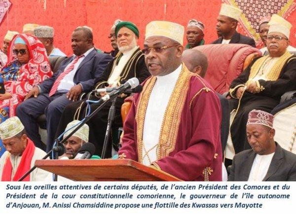 COMORES : La France, Mayotte et le Gouverneur d'Anjouan