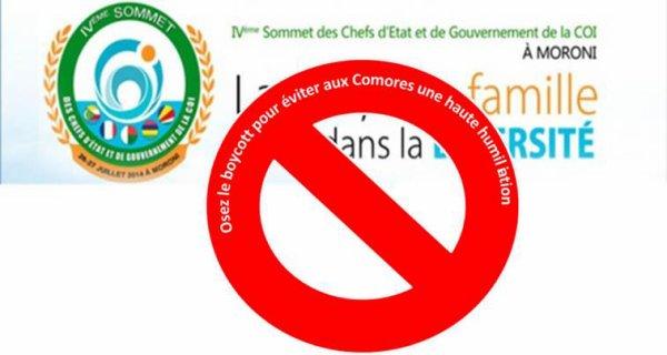 Didier Robert boycotte le IVème sommet de la commission de l'océan Indien