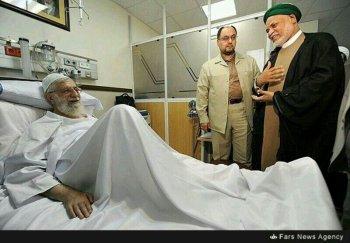 Sambi au chevet du Guide Suprême Iranien