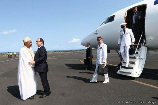 Ce que je retiens de la visite  de François Hollande aux COMORES