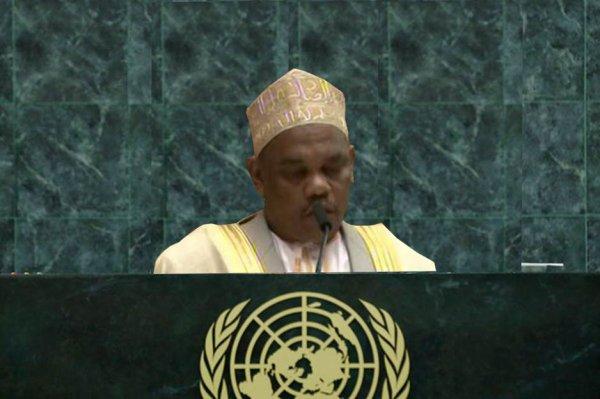 69ème AGNU : IKILILOU sur les pas de Yaya Jammeh ?