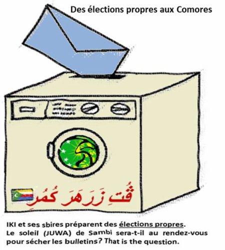 COMORES / ELECTIONS : LA CENI EST MISE SOUS TUTELLE