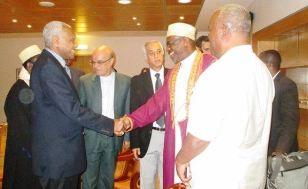 Arrivée du Gouverneur d'Anjouan dans l'île de La Réunion