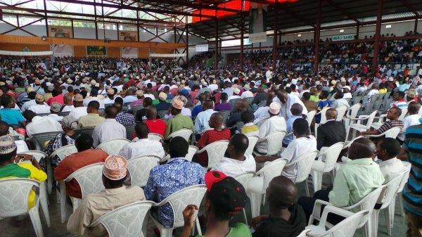 Juwa le plus grand parti des Comores
