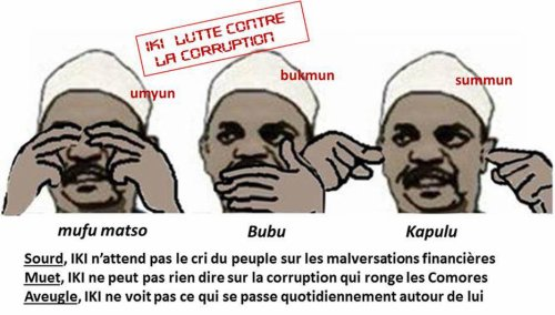 COMORES : IKILILOU combat efficacement la corruption