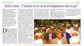 Comores :C'est IKILILOU qui le disait