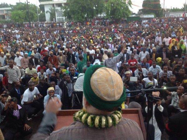 COMORES : Sambi plus populaire que jamais