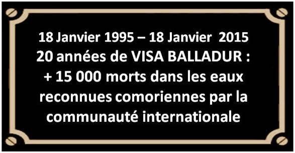 Comores : 18 JANVIER, TRISTE ANNIVERSAIRE