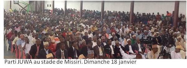 La campagne législative bat son plein aux Comores