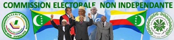 COMORES / JUWA : Avertissement à la commission électorale non indépendante (CENI)