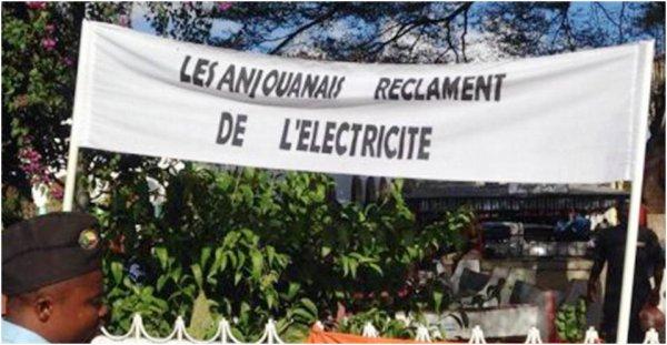 ANJOUAN / Électricité : La société Eda traverse une mauvaise passe