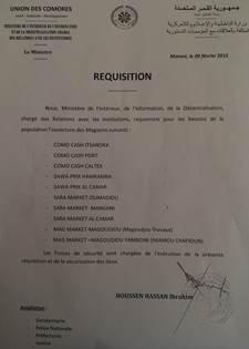 Comores : Le gouvernement IKILILOU renoue avec les méthodes dictatoriales