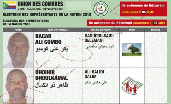 Comores / Législatives : La CENI a-t-elle déjà tranché sur le cas DOLPIC?