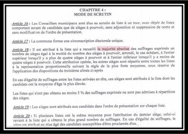 Comores / Municipales : Un souci
