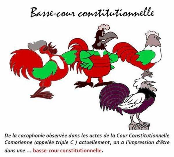 COMORES : La jurisprudence DOLPIC discrédite la Cour constitutionnelle